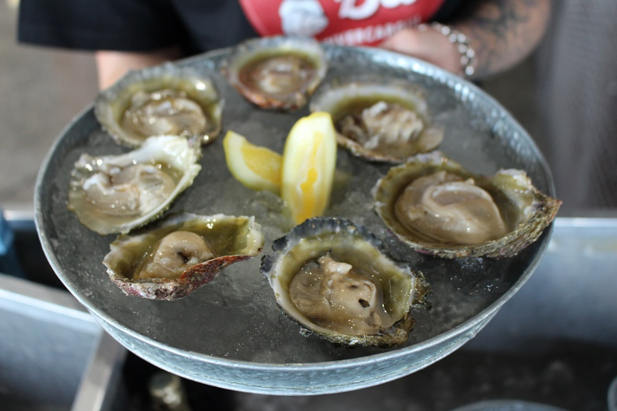 The salty seaside township of Bluff, New Zealand, is home to the world famous Bluff oyster.  Credit: Bluff Oyster and Food Festival