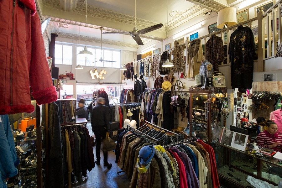 Hunter and Collectors on Cuba St is one of Bryce Dallas Howard's favourite shops in the city.  Credit: Supplied