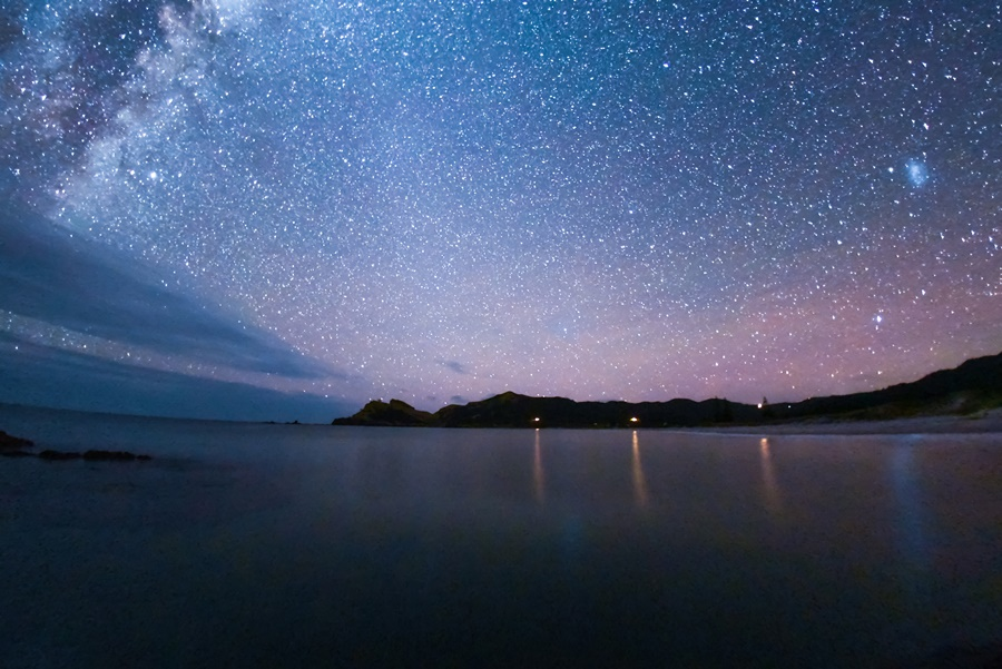 Great Barrier Island, off the coast of Auckland, has become the first island named as an International Dark Sky Sanctuary. Credit: Mark Russell