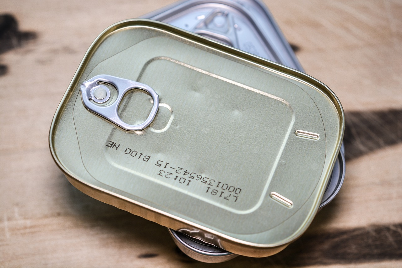 Canned food usually has high salt content. Credit: Pixabay.
